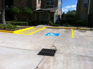striping houston tx